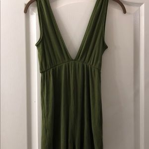 urban outfitters romper low cut